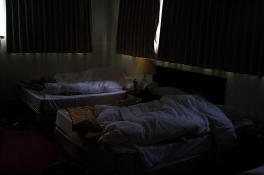 暖房がない台北は寒い。でも爆睡