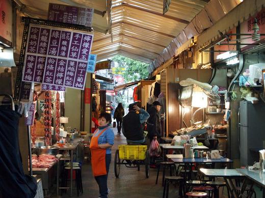 台湾朝の市場