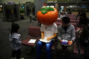 台北の柿マン